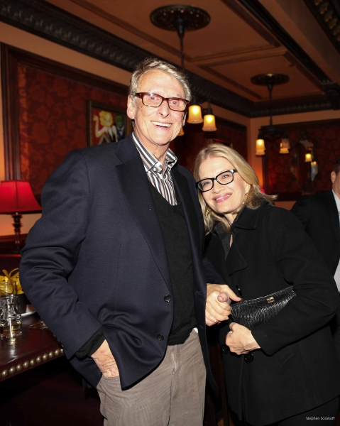 Mike Nicholas and Diane Sawyer. Photo by Stephen Sorokoff.
