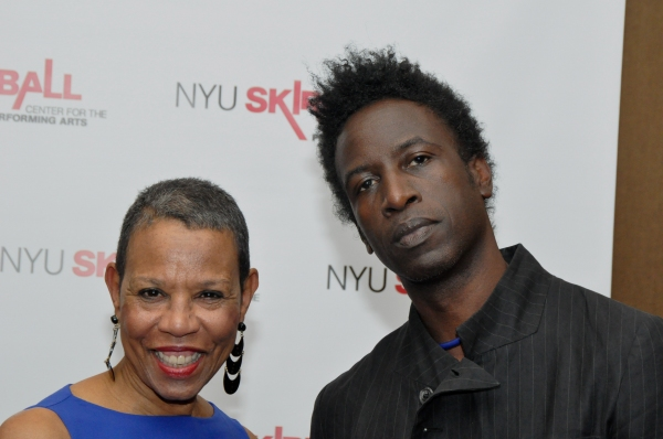 Mary Schmidt Campbell and Saul Williams Photo