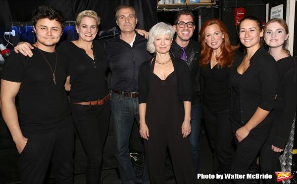 Arturo Ruiz, Cady Huffman, Marc Kudisch, Playwright Jean Giebel, Director Will Nunziata, Carolee Carmello, Deborah Rayne and Ella Dershowitz