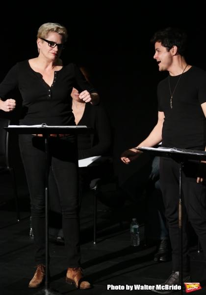 Cady Huffman and Arturo Ruiz