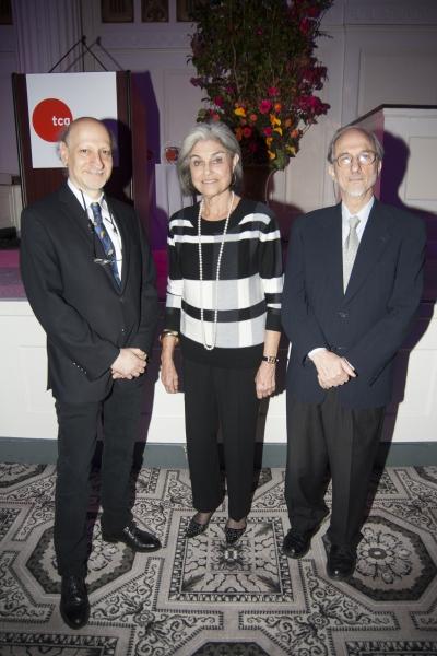 Joshua Dachs, Judy Rubin, Jules Fisher Photo