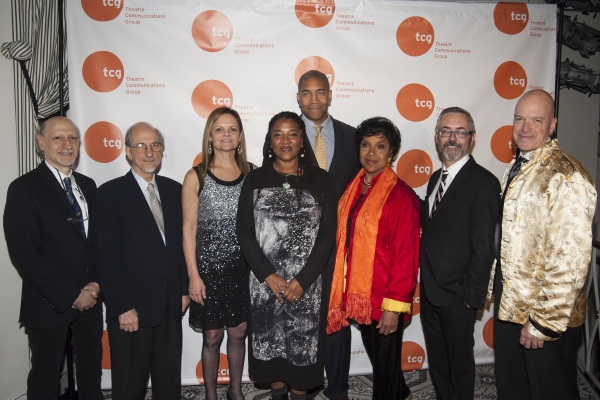 Joshua Dachs, Jules Fisher, Teresa Eyring, Lynn Nottage, Paul Oakley Stovall, Phylicia Rashad, Kevin Moore, Ben Cameron