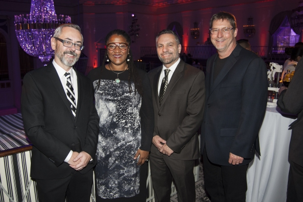 Kevin Moore, Lynn Nottage, Michael Porto, Ed Herrendeen Photo