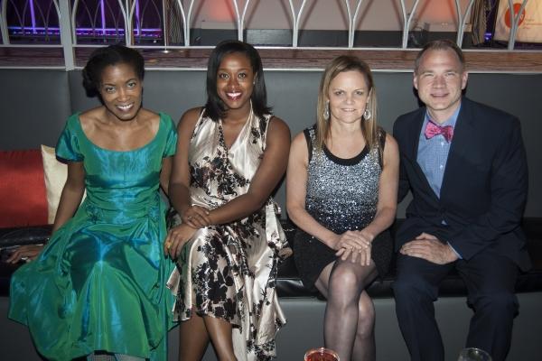 Raelle Myrick-Hodges, Dafina McMillan, Teresa Eyring and Todd Schultz