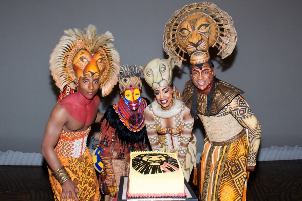 Photo Coverage: THE LION KING Celebrates 17 Years on Broadway!