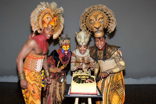 photo coverage  the lion king celebrates 17 years on broadway