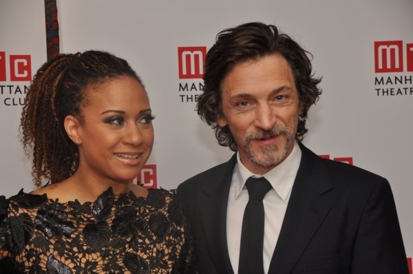 Tracie Thoms and John Hawkes