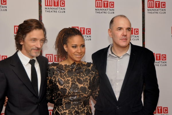 John Hawkes, Tracie Thoms and David Auburn Photo