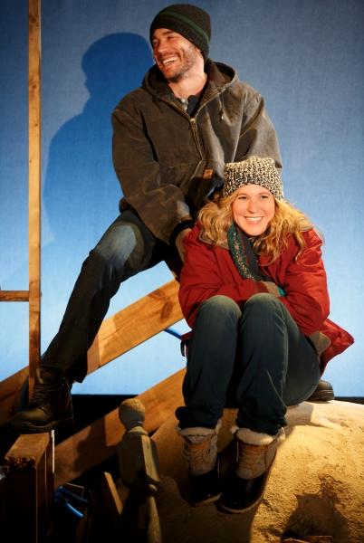 Tom Pelphre, Cassie Beck Photo