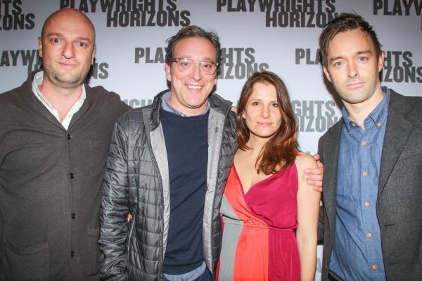 Matthew Maher, Jeremy Shamos, Mia Barron & Jesse Pennington