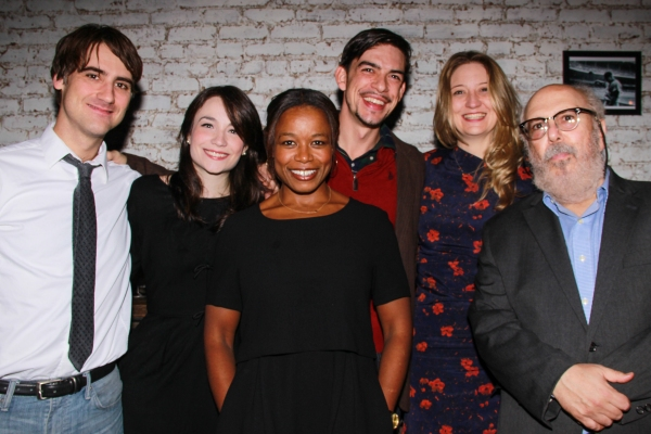 GRAND CONCOURSE Cast, Kip Fagan, Heidi Schreck