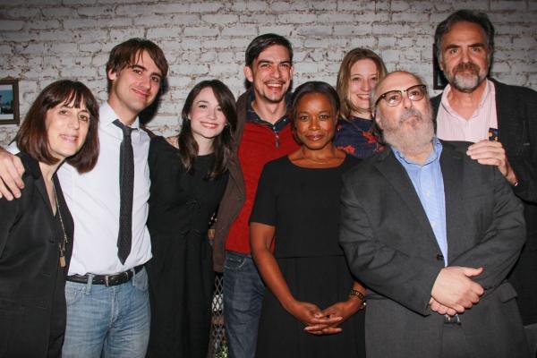 GRAND CONCOURSE Cast, Kip Fagan, Heidi Schreck, Leslie Marcus, Tim Sanford