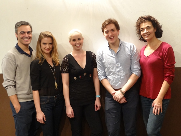Photo Flash: In Rehearsal with Off-Broadway's ABSOLUTION