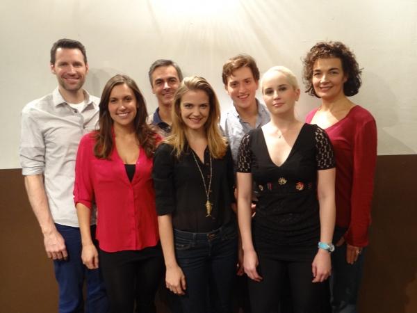 (Back) Patrick Oliver Jones, Pedro Carmo, Ethan Saks, and Katrina Ferguson; (front) Aubrey Saverino, Becca Ballenger and Anna Bamberger