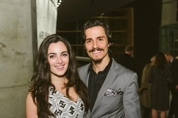Cast members Hannah Corneau and Michael Vitaly Sazonov  Photo