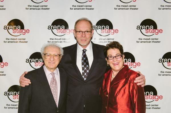 Sheldon Harnick, Executive Producer Edgar Dobie and Artistic Director Molly Smith