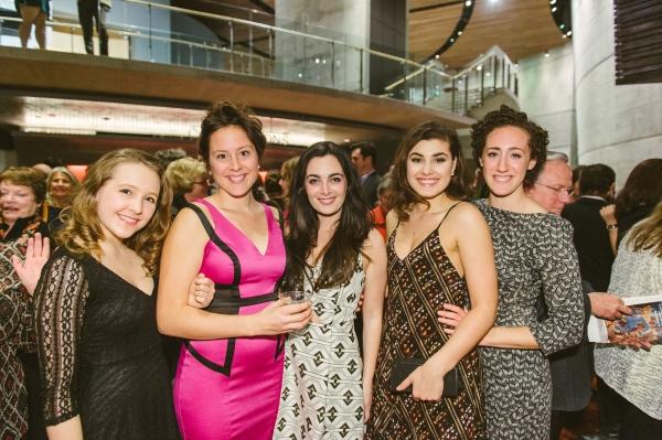 Cast members Maya Brettell, Dorea Schmidt, Hannah Corneau, Maria Rizzo and Shayna Blass