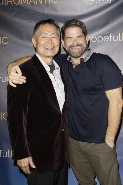 George Takei and Matt Zarley