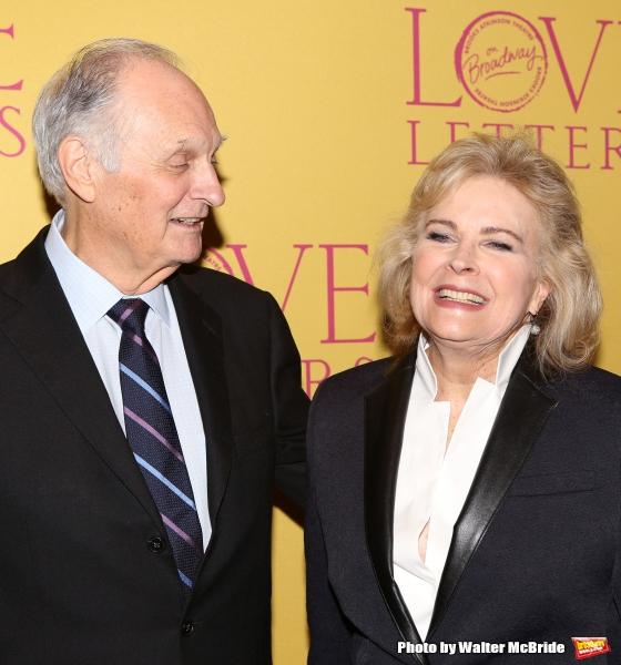 Alan Alda and Candice Bergen