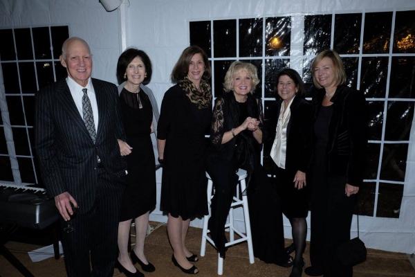 Christine Ebersole with Fern & Hersh Cohen, Janet Boxer, Marcia Kirschenbaum