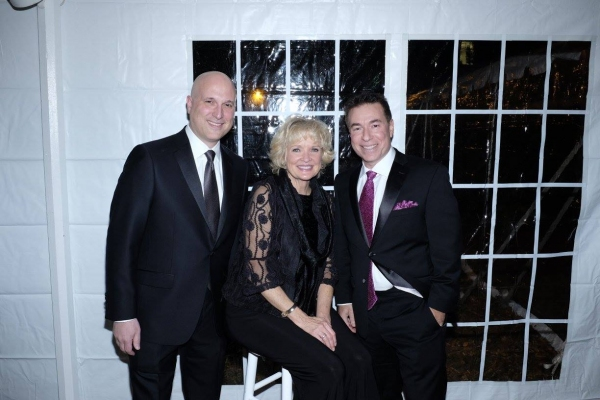 Christine Ebersole with Honorees Steven Katz & Dr. Jeffrey Schor of PM Pediatrics