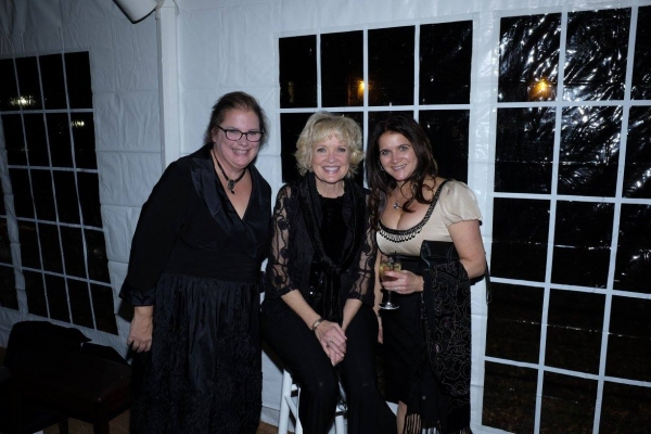 Christine Ebersole with Landmark Board Members Bridget Johnson and Shari Shedrofsky