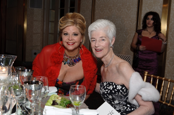 Susan Graham with Liz Stiffel  Photo