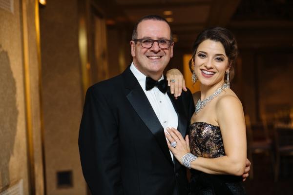 Anthony Freud with Jenn Gambatese  Photo