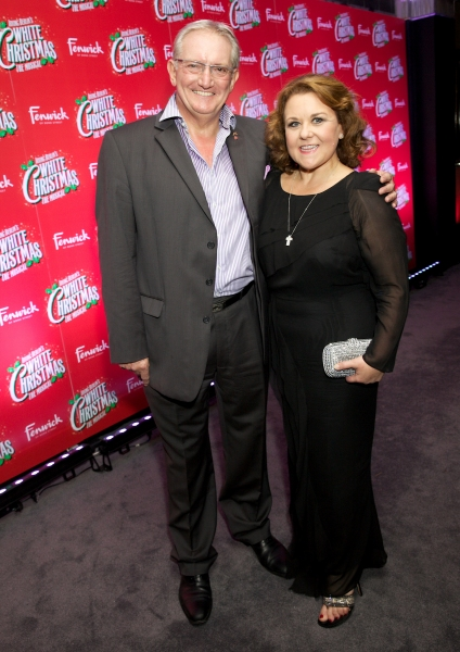 Graham Cole and Wendi Peters