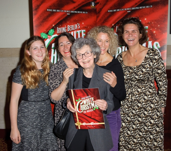 Irving Berlin''s daughter, Linda Emmet (centre) and company