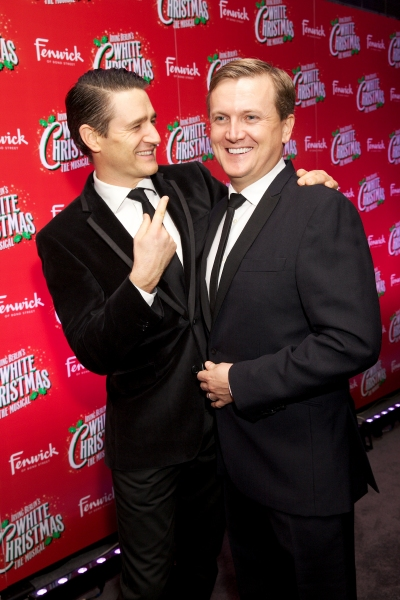 Tom Chambers and Aled Jones