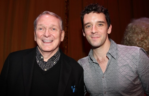 Bob Mackie and Michael Urie