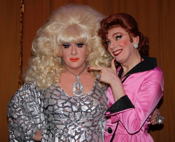 Lady Bunny and Lypsinka
