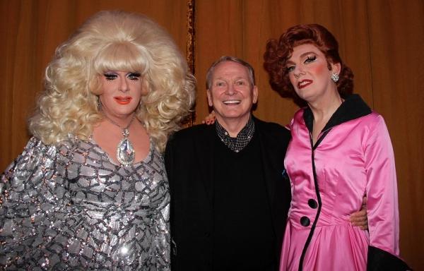 Lady Bunny, Bob Mackie and Lypsinka