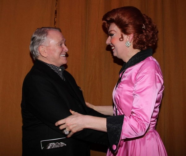 Bob Mackie and Lypsinka