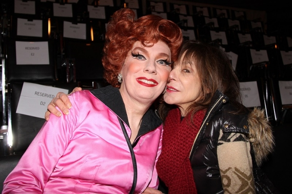Lypsinka with Academy Award nominated actress Jeannie Berlin