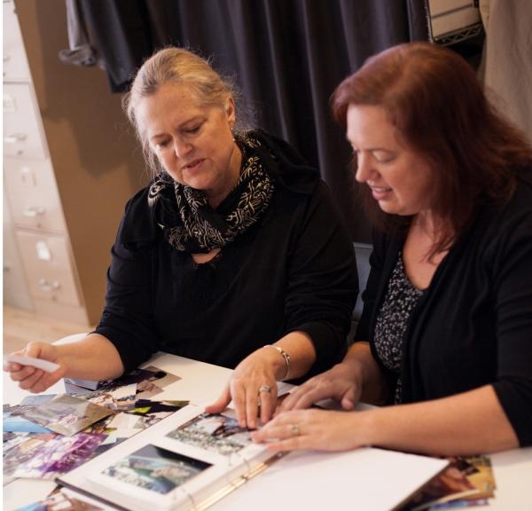 Eileen Vorbach and Jennifer Mathews Photo