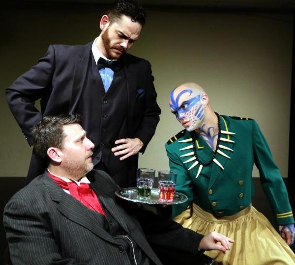 Thomas Ward, John-Michael Marrs (top), and Michael Ulmer Photo