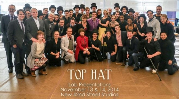 Michael Urie and TOP HAT Cast