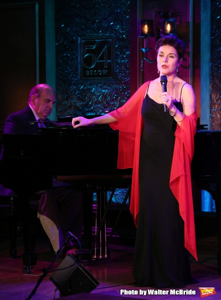 Christine Andreas with Martin Silvestri on piano