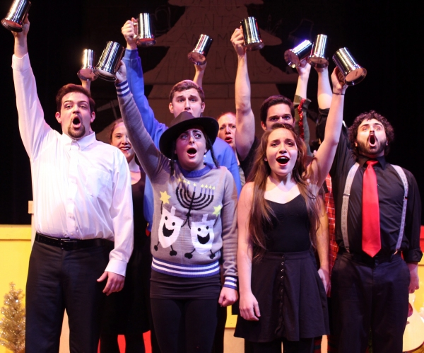 Photo Flash: First Look at Stage 773's IT'S A WONDERFUL SANTALAND MIRACLE NUT CRACKING CHRISTMAS STORY... JEWS WELCOME!