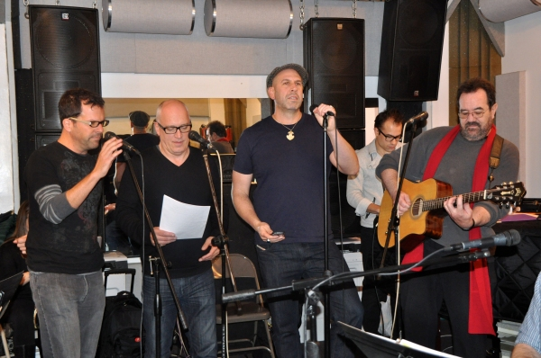 Steve Gouveia, Donnie Kehr, Jeremy Schonfeld and Michael Lanning Photo