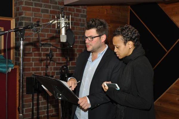 Sonny Paladino (Musical Director) and Carly Hughes