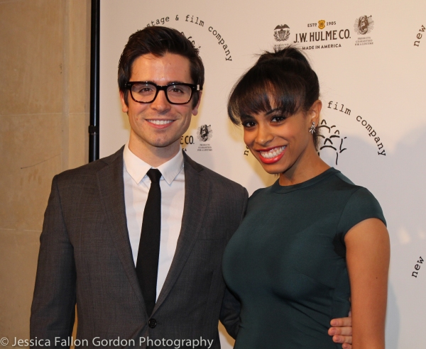 Matt Doyle and Nicolette Robinson