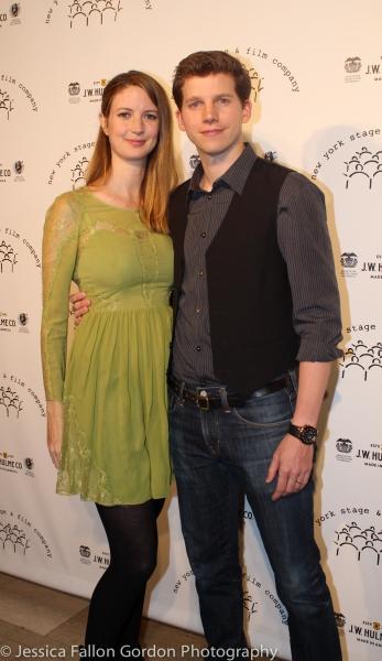 GEmma Clarke and Stark Sands