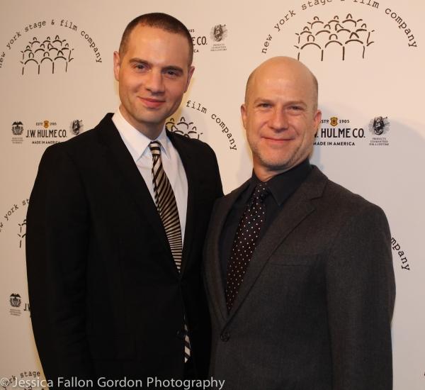 Jordan Roth and Richie Jackson
