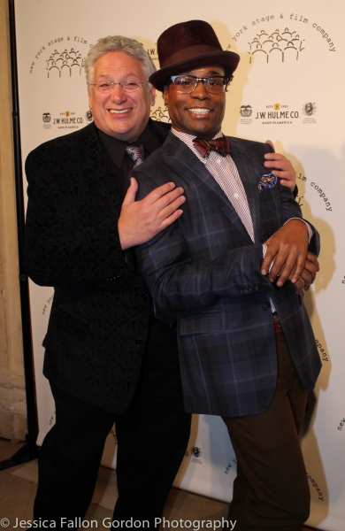 Harvey Fierstein and Billy Porter