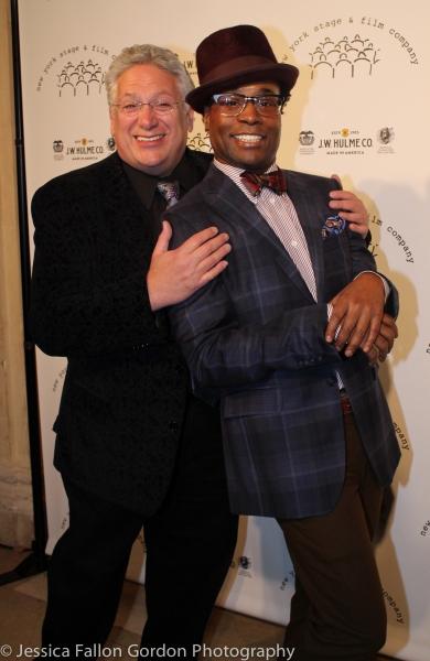 Harvey Fierstein and Billy Porter