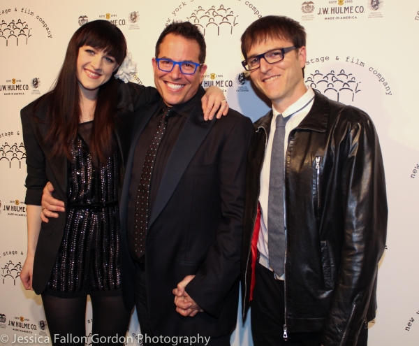 Lena Hall, Michael Mayer and Stephen Trask
