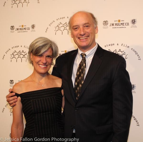 Kay Gayner and Frank Wood